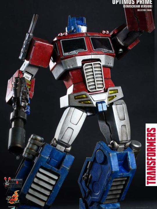 Vamers Store - Hot Toys - TF001 - The Transformers Generation 1 - Optimus Prime (Starscream Version) 03