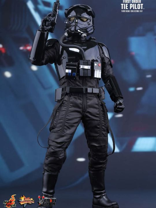 Vamers Store - Hot Toys - MMS324 - Disney's Star Wars Episode VII The Force Awakens - First Order Tie Fighter Pilot - 01