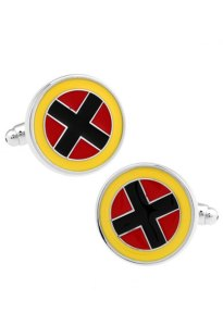 Original X-MEN Logo Cufflinks Inspired by the Classic X-MEN