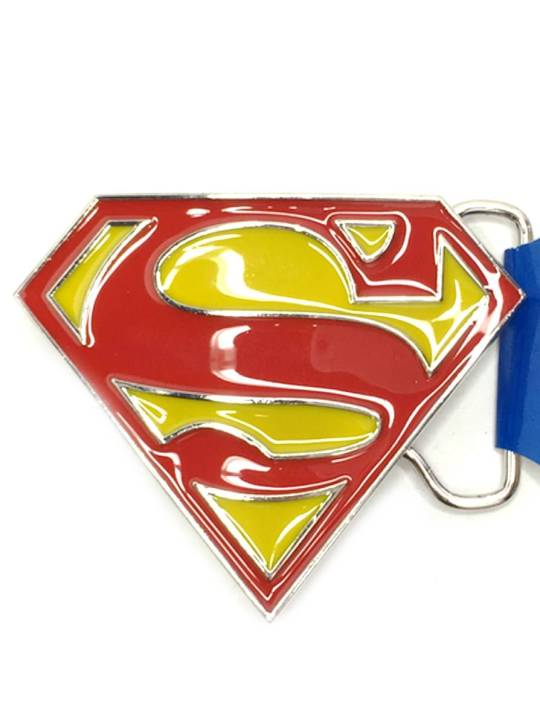 Vamers Store - Merchandise - Geek Chic - Accessories - Bazinga Belt Buckles - Superman Classic Logo Belt Buckle inspired by DC Comics - 01