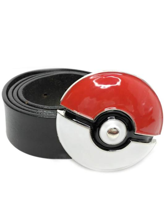 Vamers Store - Merchandise - Geek Chic - Accessories - Poké Ball Belt Buckle inspired by Pokémon - 04