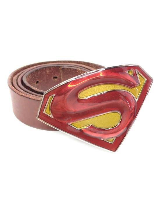 Vamers Store - Merchandise - Geek Chic - Accessories - Superman Returns Logo Belt Buckle inspired by DC Comics - 04