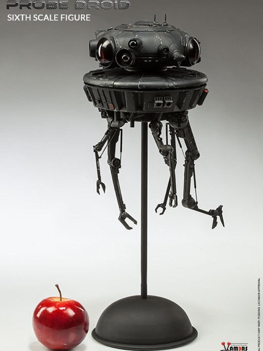 Vamers Store - Sideshow Collectibles - VS-SSC-IPD - Star Wars Imperial Probe Droid Limited Edition Sixth Scale Collectible - 10