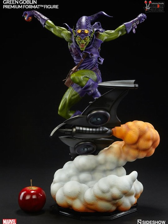 Vamers Store - Sideshow Collectibles - VS-SSC-PFFGG - Premium Format Figure - Green Goblin - 07