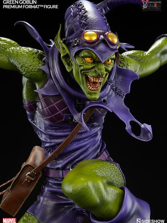Vamers Store - Sideshow Collectibles - VS-SSC-PFFGG - Premium Format Figure - Green Goblin - 10