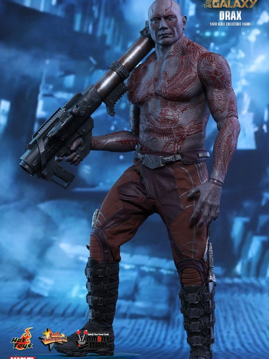 Vamers Store - Hot Toys - MMS355 - Marvel's Guardians of the Galaxy - Drax - 01
