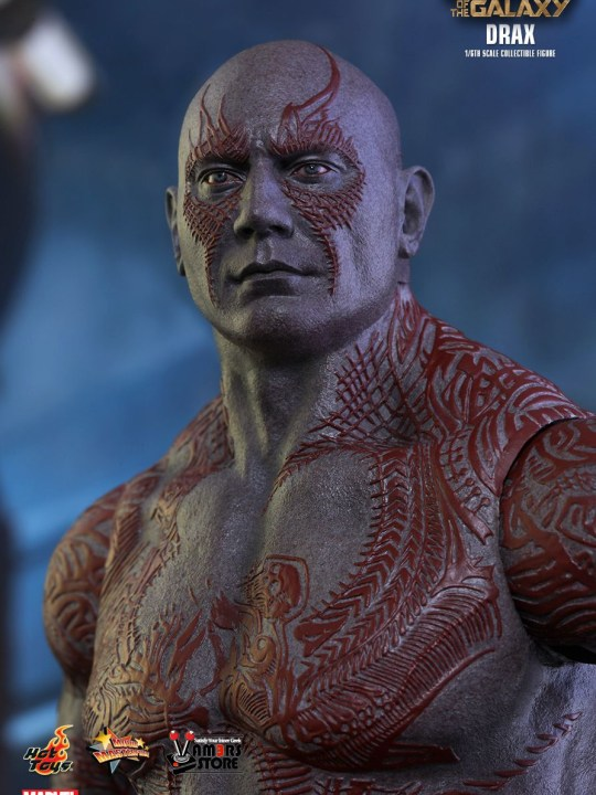 Vamers Store - Hot Toys - MMS355 - Marvel's Guardians of the Galaxy - Drax - 16