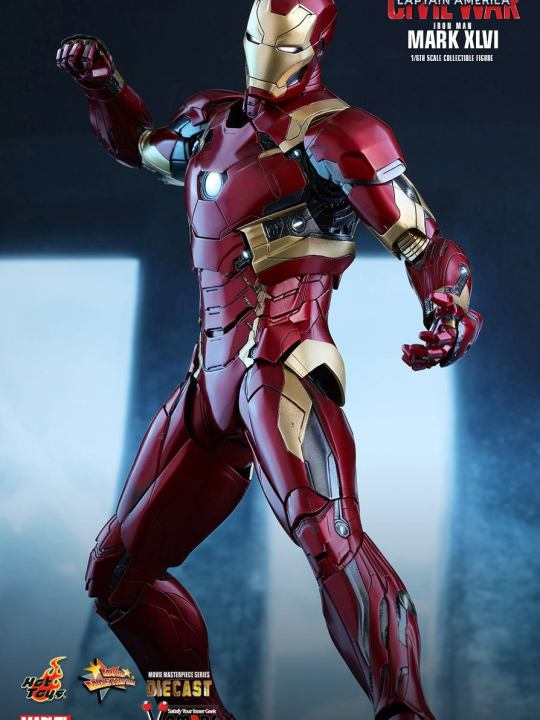 Vamers Store - Hot Toys - MMS353D16 - Captain America Civil War - Iron Man Mark XLVI Diecast - 004