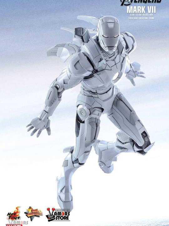 Vamers Store - Hot Toys - MMS329 - The Avengers - Iron Man Mark VIi (Sub-Zero Version) - 06