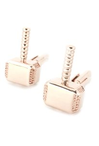 Bronze Mjölnir Cufflinks inspired by Marvel's Thor
