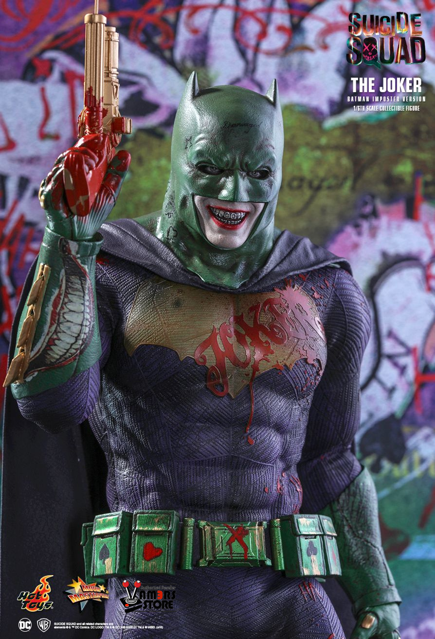 Hot Toys The Joker Batman Imposter Version From Suicide