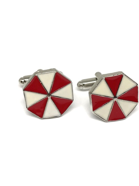 Vamers Store - Merchandise - Geek Chic - Accessories - Cufflinks - Umbrella Corporation Cufflinks inspired by Resident Evil - 24
