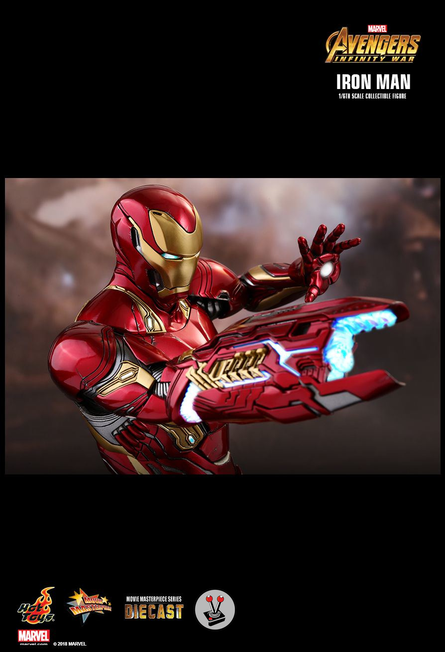 Hot Toys Diecast Iron Man From Avengers Infinity War