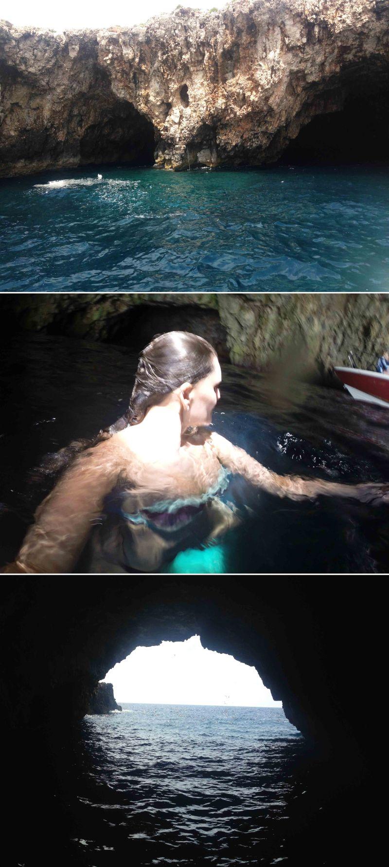 gruta verde em hvar