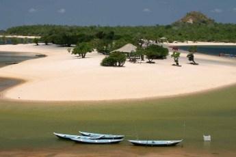 Praia de Alter do Chão, Pará.