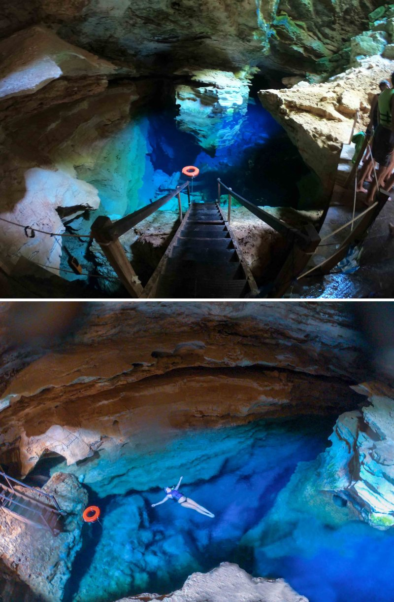 poço azul na chapada diamantina na bahia Chapada Diamantina em 5 dias