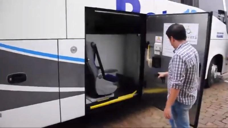 Cadeirantes Comil  - Transporte rodoviário de cadeirantes – Legislações e novidades para portadores de acessibilidade reduzida.