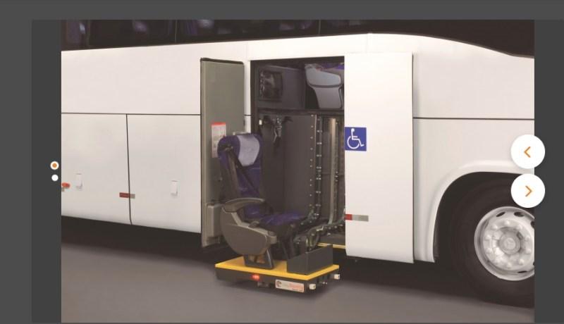 Cadeirantes Marcopolo  - Transporte rodoviário de cadeirantes – Legislações e novidades para portadores de acessibilidade reduzida.