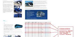 Grupo JCA 2 - Serviço 1a Classe – Conceitos sobre esta categoria de transporte rodoviário