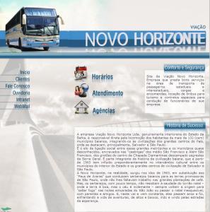 Novo Horizonte 2011 297x300 - Serviço Leito Rodoviário – Análise desta oferta de serviço entre as empresas de ônibus