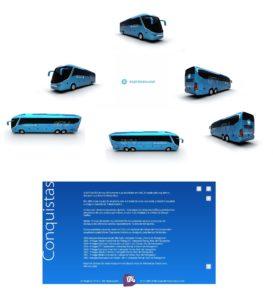 Premiações 3 1 273x300 - Pinturas dos ônibus – O que há de mais moderno e chamativo em design de frota