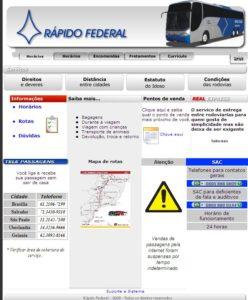 Rápido Federal 2011 248x300 - Serviço Leito Rodoviário – Análise desta oferta de serviço entre as empresas de ônibus