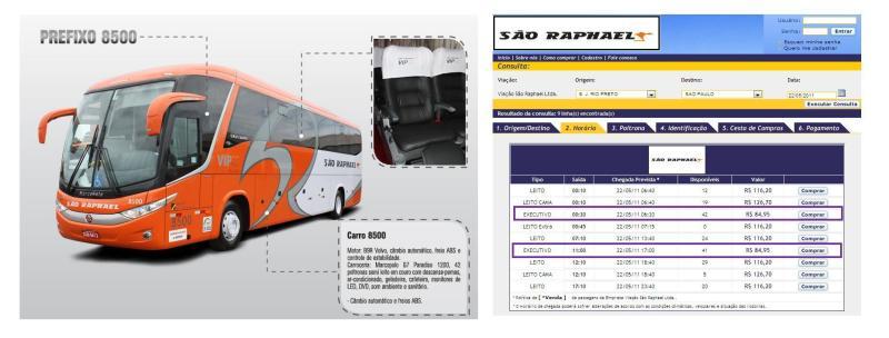 São Raphael 2011 - Serviço Semi Leito – Conceitos sobre esta categoria de transporte rodoviário