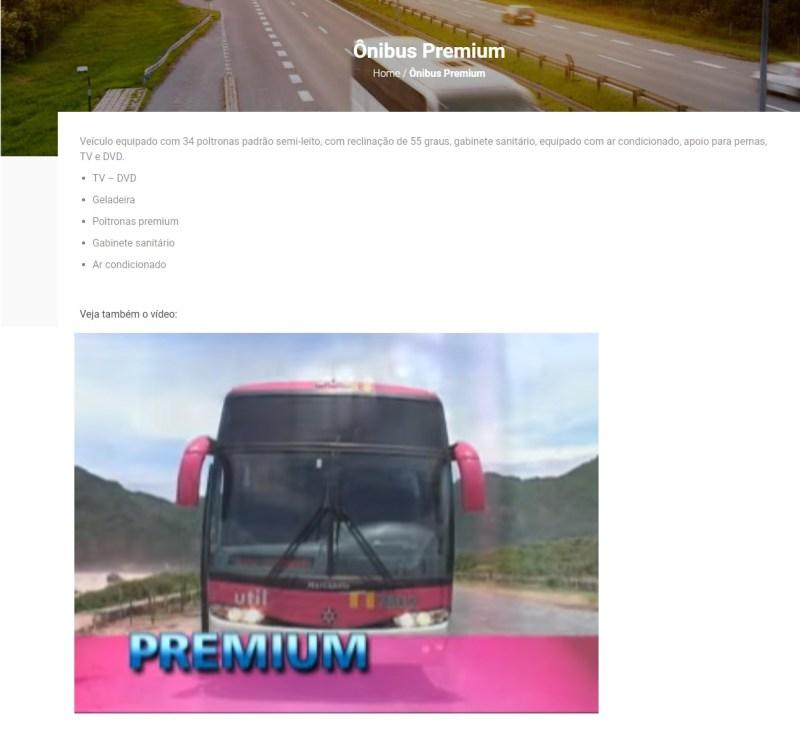 Util 2019. jpg - Serviço Semi Leito – Conceitos sobre esta categoria de transporte rodoviário