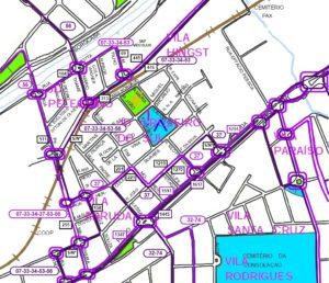 Setor COOP Árvore Grande 300x258 - Região Leste de Sorocaba – Linhas de ônibus urbanas predominantes