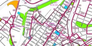 Setor Maria do Carmo - Além Linha Sorocaba – Linhas de ônibus predominantes.