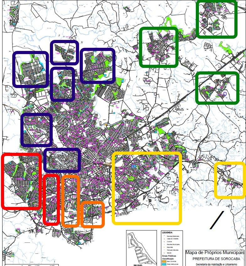MAPA 2 - Qualidade do transporte público – Perfil do usuário e avaliação do transporte urbano