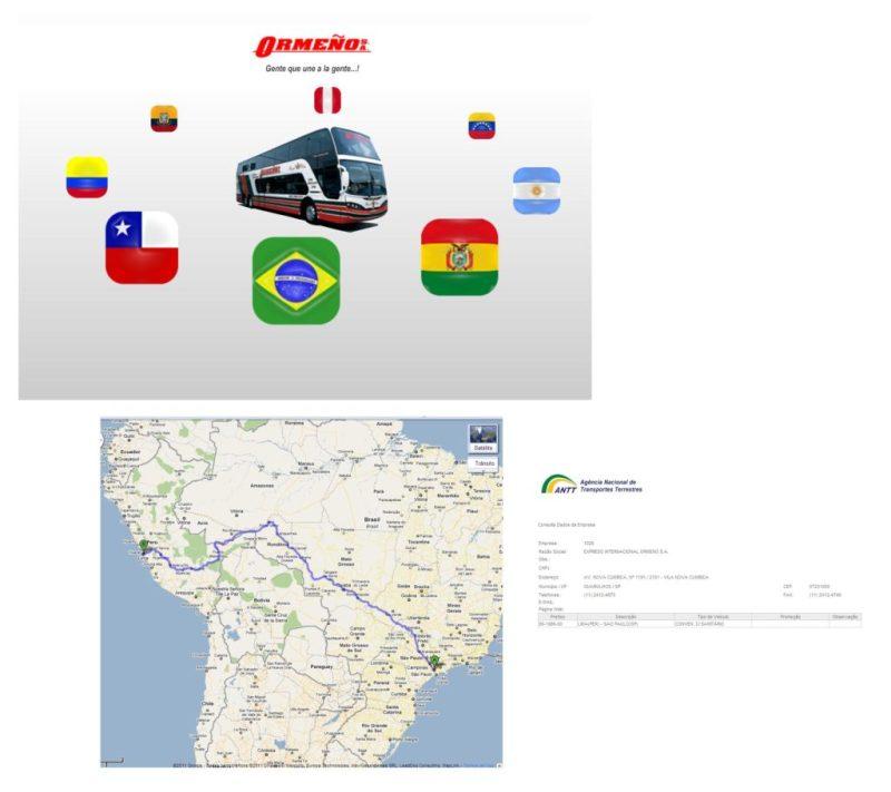 EXPRESSO ORMENO 1024x910 - Ônibus do Brasil para Peru – Saiba mais sobre esta ligação rodoviária internacional
