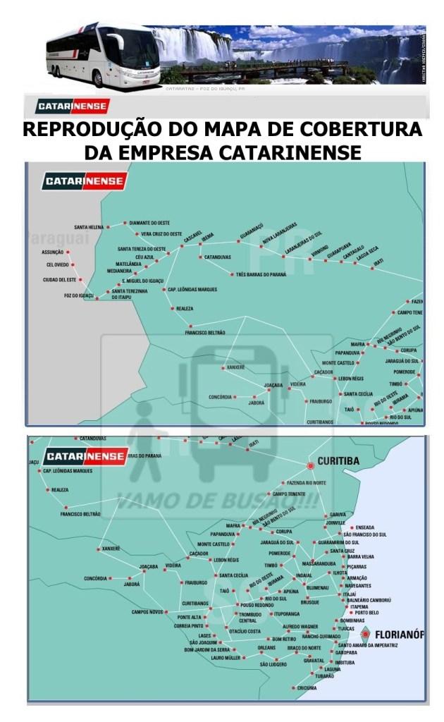 CATARINENSE FORMATADO 630x1024 - Ônibus do Brasil para Paraguai – Saiba mais sobre esta ligação rodoviária internacional