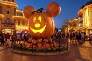 Halloween en Disneyland calabaza