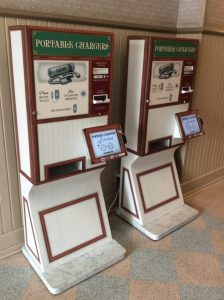 venta de baterías precargadas en Disney