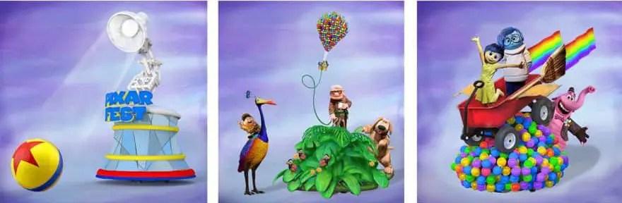 Desfile Pixar Play Parade