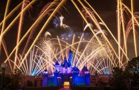 Año nuevo en Disneyland