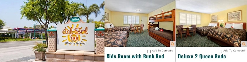 Del Sol Inn Hoteles baratos en Anaheim