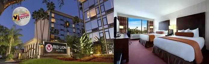 Hoteles Baratos en Anaheim Red Lion Disneyland