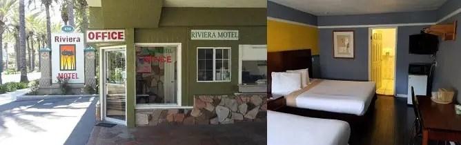 Hoteles Baratos en Anaheim Motel Riviera