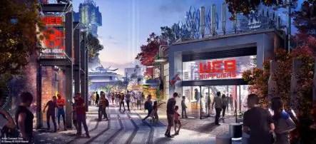 Avengers Campus en Disneyland en 2020