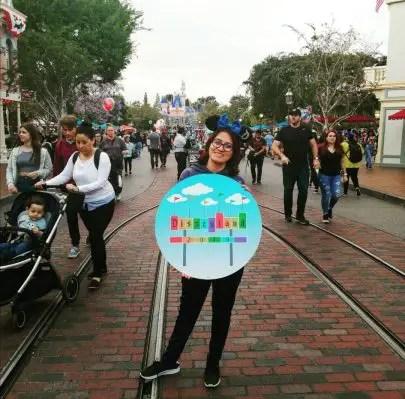 ir a Disneyland sola
