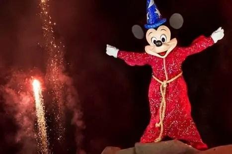 Fantasmic en Disneyland