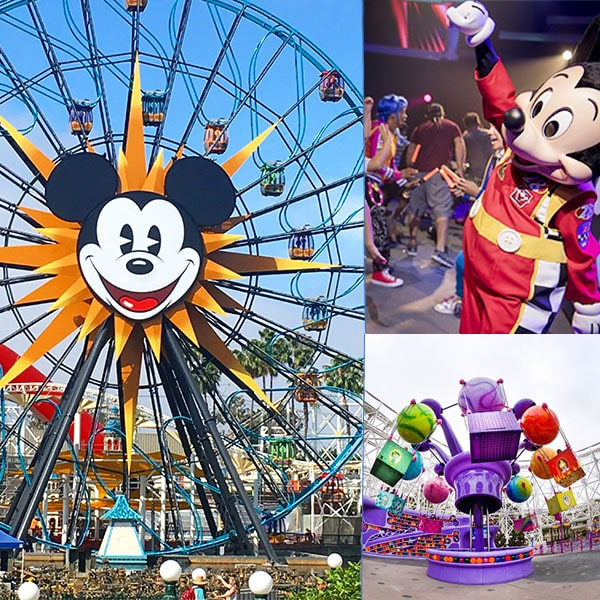 atracciones en Disney California Adventure para niños pequeños