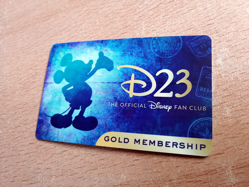 Membresía D23 2020 tarjeta card