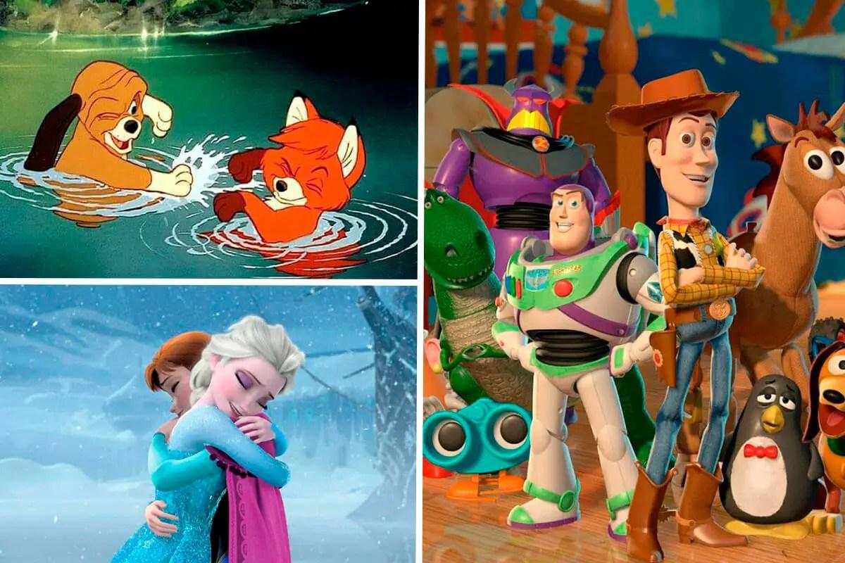 Películas Disney sobre Amor y Amistad