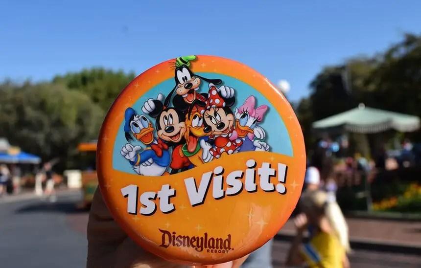 Primera visita a Disneyland