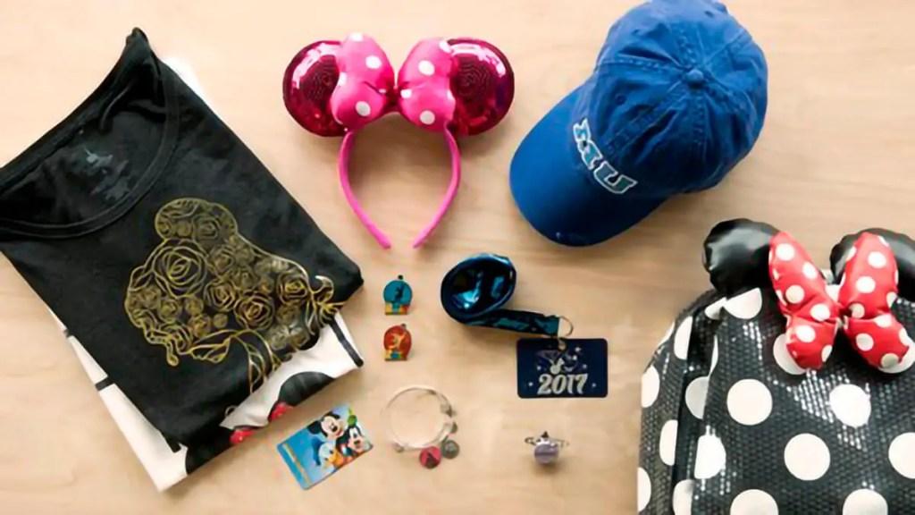 Productos de la Disney Store desde México