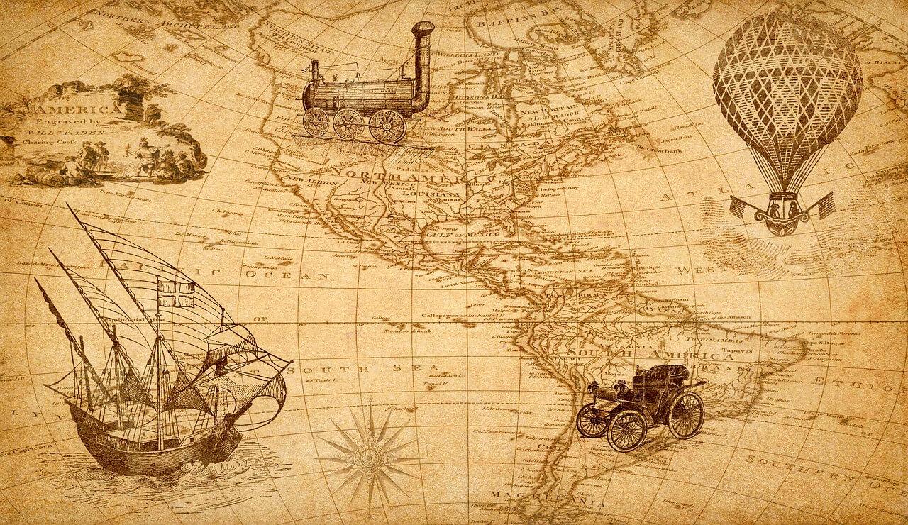 Viajar por tierra, mar o aire. vamosaudioblog.com