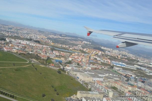 Despegando de Lisboa en un Boeing 737